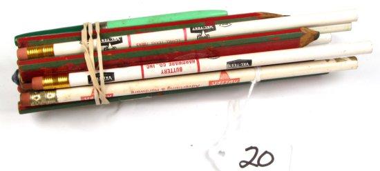 Lot Of Shapleigh & Keen Kutter Pencils