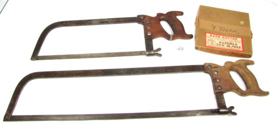 """Lot: Keen Kutter Butcher Saw Blades; Kf 5/8; 25 Ft.; Nos; In Box; Meat Saw; 14""""; Kk; Meat Saw"""