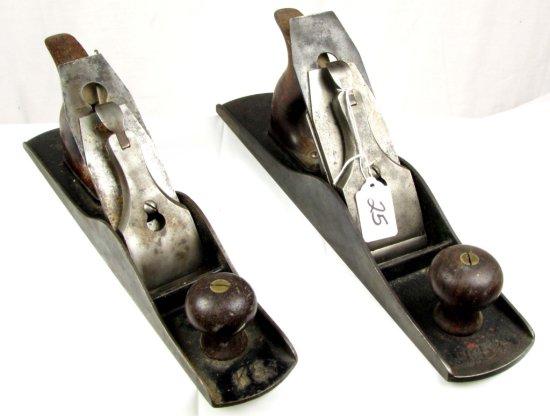 2 Keen Kutter Iron Block Planes; K 5 ½ & K6; Both Corrugated