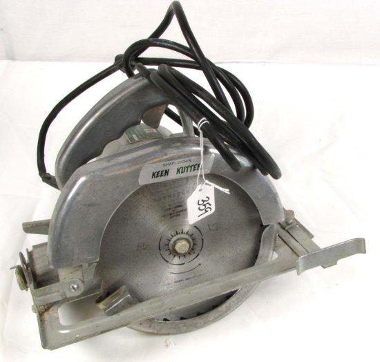 "Electric Clutch Saw; Shapleigh's Keen Kutter; 7"" Blade; Model 70"