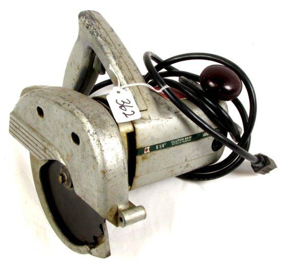 """Electric Clutch Saw; 6 ¼"""" Blade; Kk247; Shapleigh's Keen Kutter"""