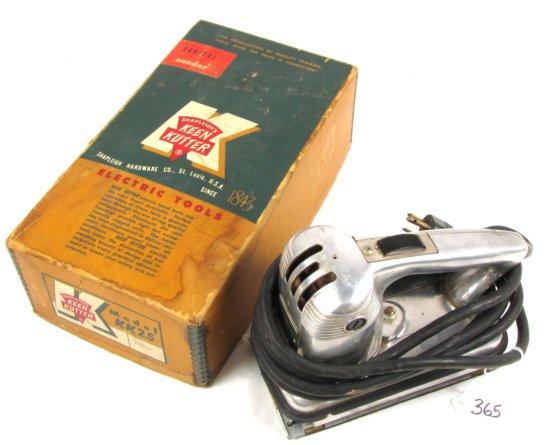 Electric Orbital Sander; Kk25; W/box; Shapleigh's Keen Kutter