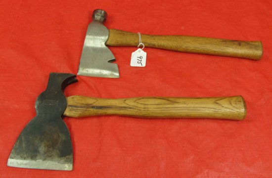 Plain Poll Hatchet & Rig Builders Hatchet; Winchester