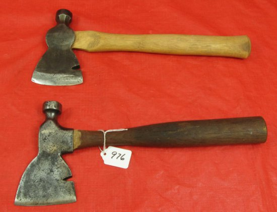2 Shingling Hatchets: Haines Pattern & Standard; Winchester