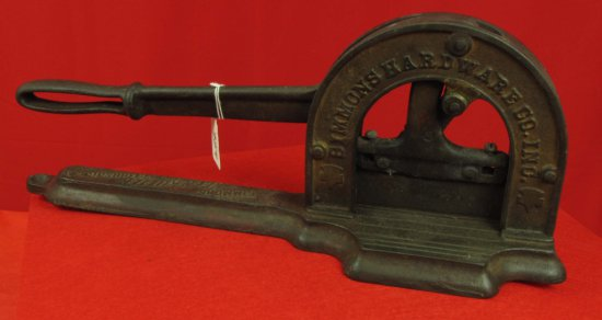 Tobacco Cutter; Ecs Keen Kutter (end Of Base Broken Off)