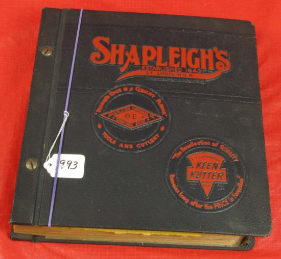 Catalog; 1942 Shapleigh's Diamond Edge & Ecs Keen Kutter