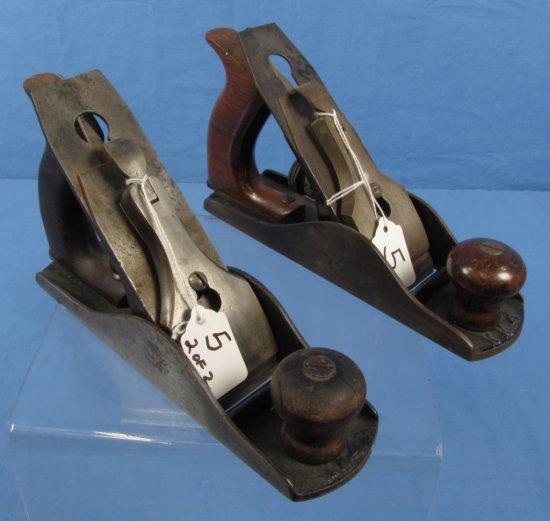 Iron Block Planes (2); 1 Smooth; 1 Corrugated; Kk4; Ecs Keen Kutter