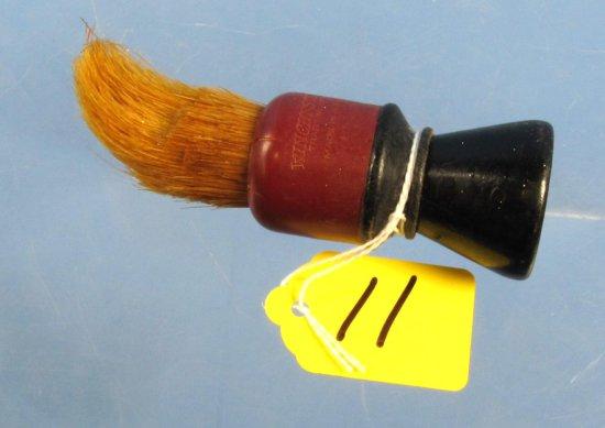 Shaving Brush; Winchester; No. 50; Red & Black Hndl.; Brush Shows Use