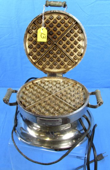 Waffle Iron; Electric; Winchester #36 W/cord