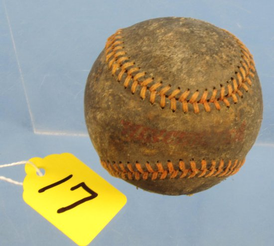 Baseball; Winchester; Worn But Good; Mrkd On 2 'sides'.