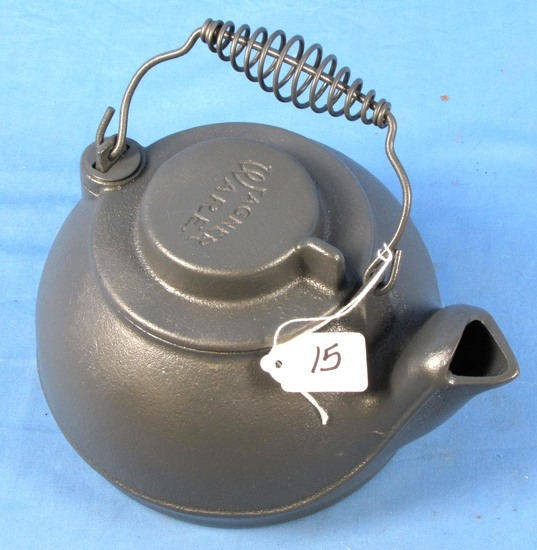 Tea Kettle; Wagnerware; Late; Stay Cool Hndl.