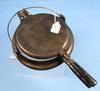 Waffle Iron; Wapak #8; Finger Hinge (cylinder)