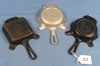 3 Ashtrays: Griswold; All W/match Holder; Pn 570; 570a (alum.) & 770