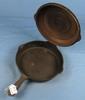 Hammered Skillet W/lid; Griswold Epu; Sm. Logo; Pn 2008/2098; Surface Rust