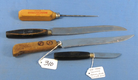 Paring Knife & Butcher Knife (    Auctions Online | Proxibid