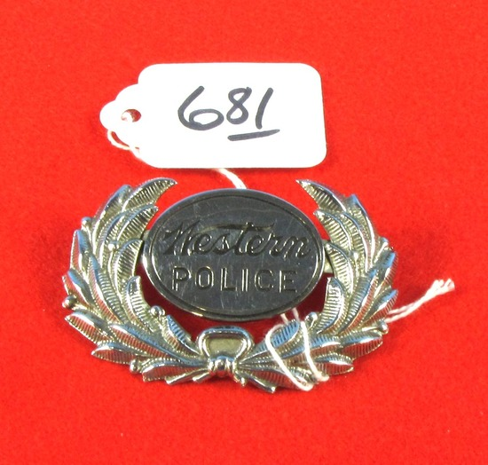 Western Police Badge