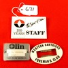Western Cartridge Foreman's Club Badge; Olin Works Badge; Spirit Of Olin Staff Badge