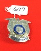 Patrolman Badge; State Of Illinois