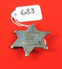Deputy Marshall Wichita Kansas Badge (6 Pt. Star)