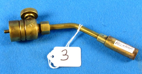Brass Blowtorch Nozzle; Belknap