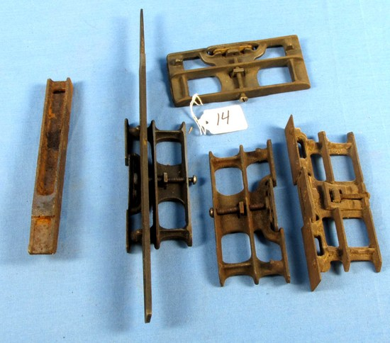 4 Saw Sets (1 Excelsior No. 8; Ec Atkins & Co.) W/some Tools