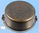 #10 Tite-top Dutch Oven; Griswold; Ll; Block; Epu; P/n 835