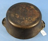 #8 Tite-top Dutch Oven; Griswold; Ll; Block; Epu; P/n 1295 No Patent