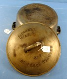#9 Drip Drop Roaster; Wagner Ware ; 1269; W/raised Letter High Dome Lid