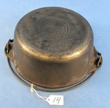 #7 Tite-top Dutch Oven; Griswold; Ll; Block; Epu; P/n 1277 W/patent