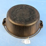#8 Tite-top Dutch Oven; Griswold; Ll; Block; Epu; P/n 833 W/patent