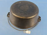#10 Tite-top Dutch Oven; Griswold; Ll; Block; Epu; P/n 835 W/patent