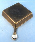 Square Fry Skillet; Corner Handle; Griswold Erie Pa; P/n 768; W/tab