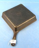 Square Utility Skillet; Corner Handle; Griswold Erie Pa; P/n 768; W/tab (and Yes; It Is Marked Squa