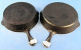 2 Skillets: Favorite Piqua Ware The Best To Cook In; #8 & The Housewares Department Limited; T Eato