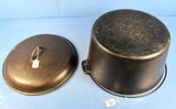 #13 Dutch Oven; Griswold; P/n 2635 ( Bottom Is Pitted In Center) & #13 Dutch Oven Lid; P/n 2636 Gri