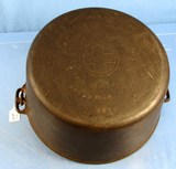 #12 Dutch Oven; Griswold Tite-top; Epu; Ll; Block; P/n 2634; Some Pitting Inside