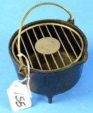 Wind-proof Ash Tray; P/n 32; Griswold W/grate