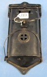 No. 3 Cast Iron Mail Box; Griswold Erie Pa; P/n 106/105