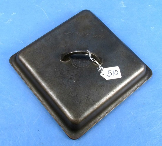 Square Fry Skillet Cover; Griswold; Sl; Erie; Pa; P/n 769