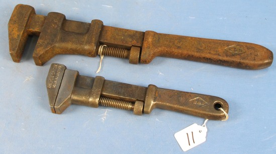 2 Monkey Wrenches (railroad Special-w & B)