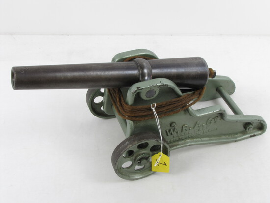 Signal Cannon; Winchester; Green Finish On Carriage