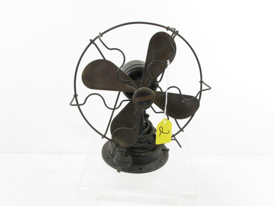 Sm. Oscillating Electric Fan; Black; Winchester; Smallest One