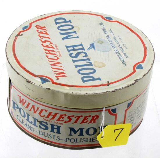 Polish Mop Tin; Empty; Winchester