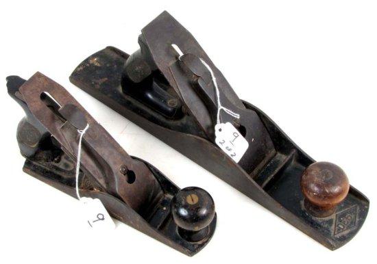 2 Shapleigh Planes: De 3; 8.5in & De 5.5in ;15in Corrugated;in