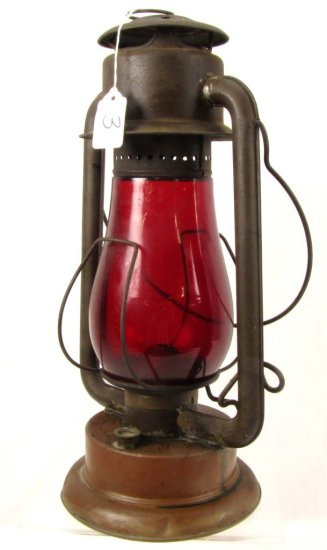 Lantern; Frisco No. 2; Red Globe; Pritchard & Strong; Rochester Ny