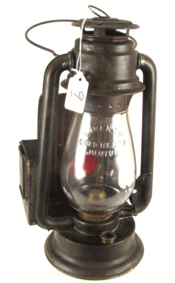 Lantern; Simmons Liberty; W/reflector & Red Bull's Eye Lens & Side Holder; 12in Tall; Liberty Cold