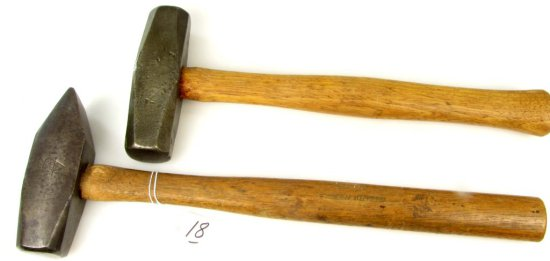 2 Blacksmith Shop Hammers; Ecs Kk