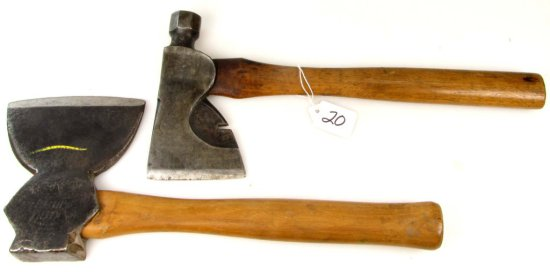 Bench Head Hatchet; Single Bevel; Keen Kutter & Half Hatchet; Fast Mail Simmons Hardware