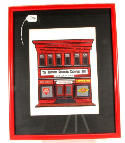 The Hardware Companies Kollectors Klub Limited Edition Print; (hardware Store W/logos; Winchester;