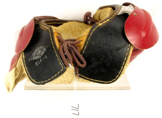 Leather Boy's Football Shoulder Pads; Dsp10; Shapleigh's Diamond Brand